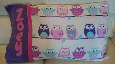 Lisa Patty Cake Alpha Applique Pillowcase
