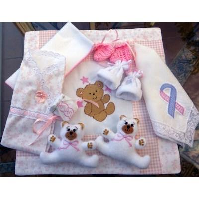Vicki Cuddle Bear Baby Set