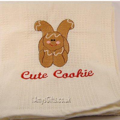 Lauras Gingerbread Tea Towel