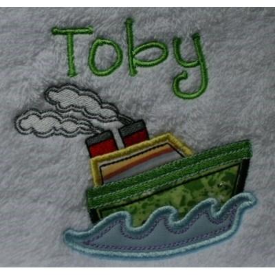 Kerrys Seaside Stitchies Gym Towels