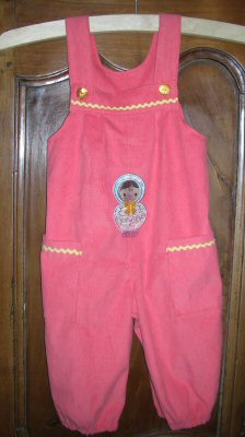 Florence Russian Dolls Overalls