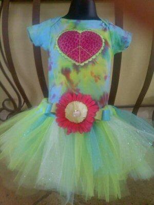 Nicoles Rock On Applique Tutu Dress