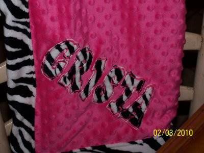Nicoles Kids Alpha Blanket