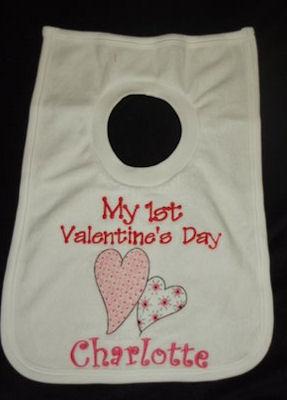 Marys Valentine Bib