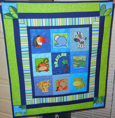 Barbaras Jungle Quilt