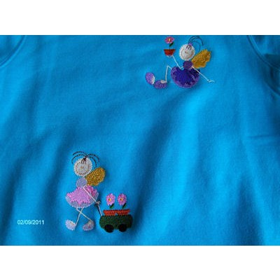 Jamies Garden Fairies Sweatshirt