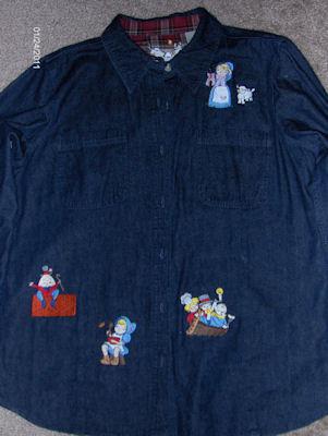 Jamies Splendid Nursery Rhymes Denim Shirt