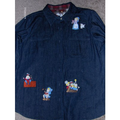 Jamies Splendid Nursery Rhymes Denim Shirt