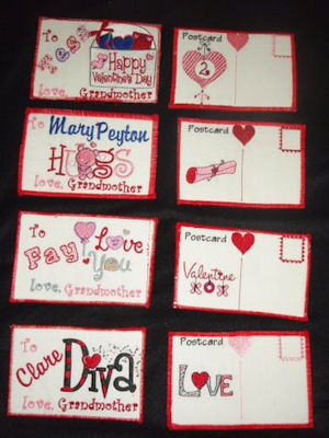 Marys Valentines Post Cards
