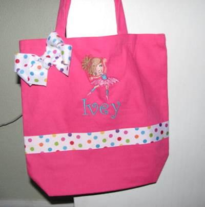 Beckys Ballet Cuties Dance Bag