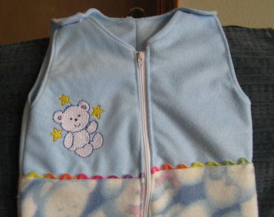 Roberta Cuddle Bear Sleep Suit
