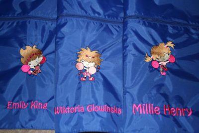Kerrys Cheerleader Swim Bags