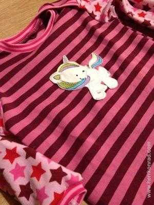 Anette Magical Unicorns Applique Shirt Mar 16