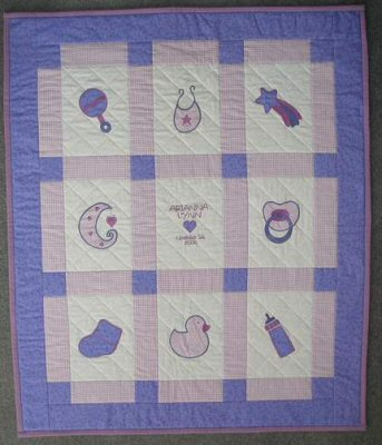 Baby Applique Quilt