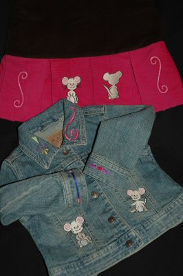Squeaky Mice Outfit