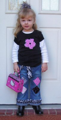 Applique Shapes Outfit