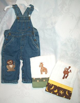 Jungle Safari Overalls