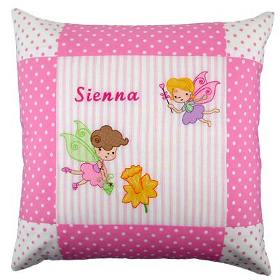 Jackies Fairy Love Cushion