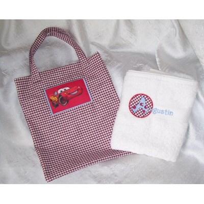 Celines Childrens Bag and Towel