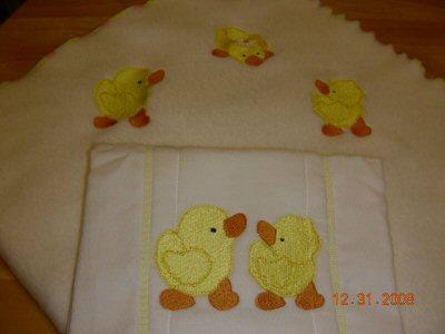Sues Just Duckys Blanket