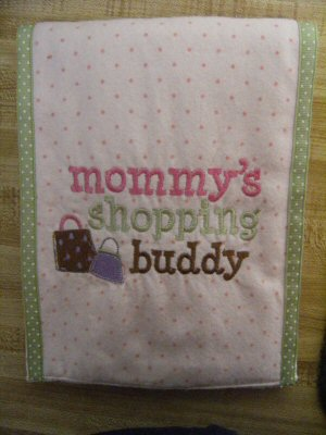 Bonnies Dear Mommy Burp Cloth