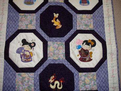 Carols Oriental Quilt