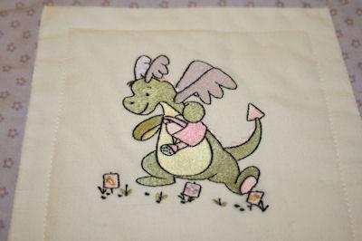 Kathys Daring Dragons Quilt