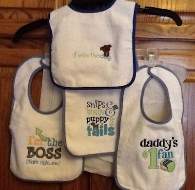Mary Sentiments Bibs May 16