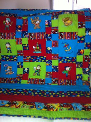 Annette Pirates Ahoy Quilt May 17