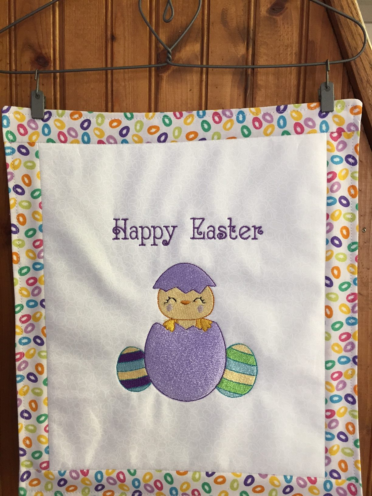 Deborah Easter Sentiments Too Wall Hanging May 17