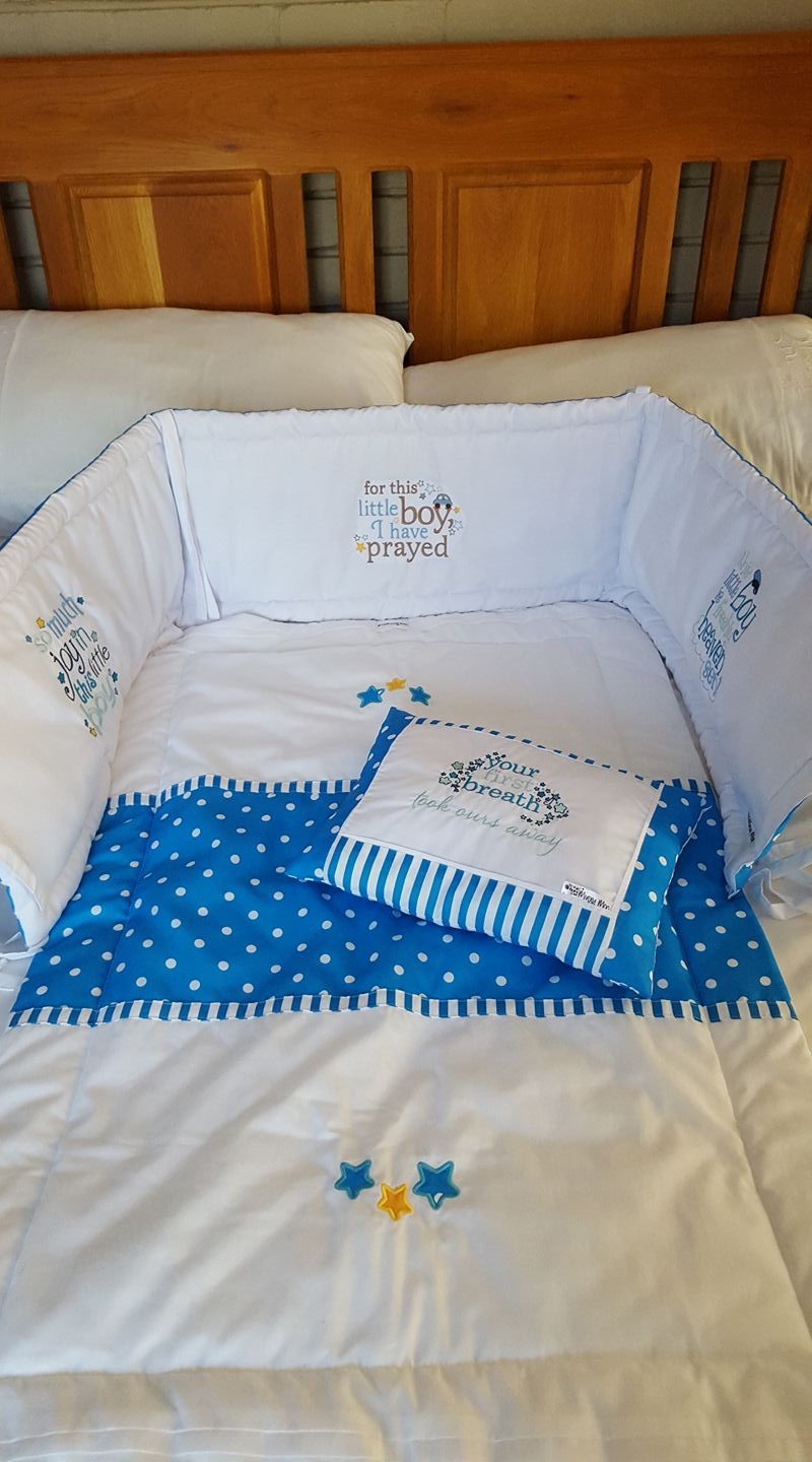 Ruth Boys Cot Set May 17