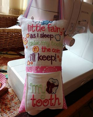 sheiladonnachie Tooth Fairy Pillow May 17