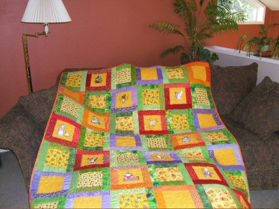 Neenas Splendid Nursery Rhymes Quilt