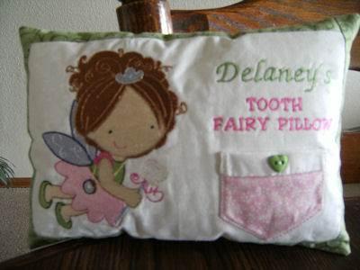 Bonnies Tooth Fairy Pillow Nov