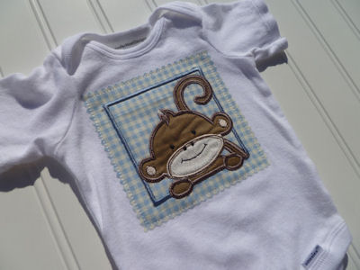 Jens Monkey Friends Applique Blocks Products