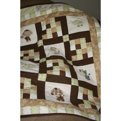 Kathys Mighty Jungle Animals Quilt Nov 11