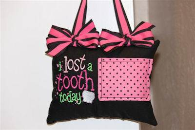 Patsys The Tooth Tooth Fairy Pillow