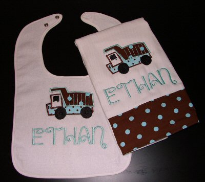 The Posh Bowtiques Burps and Bibs