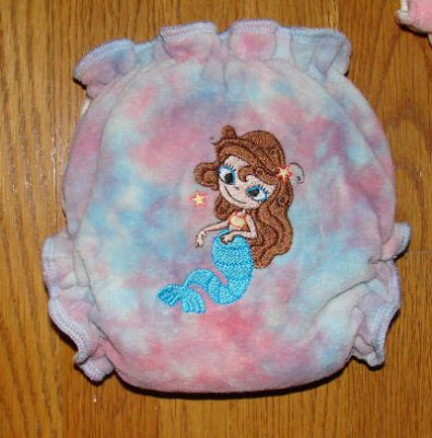 Mermaids Fitted Nappy