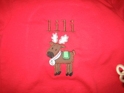 Ingrids Little Stitchies In Christmas Tee