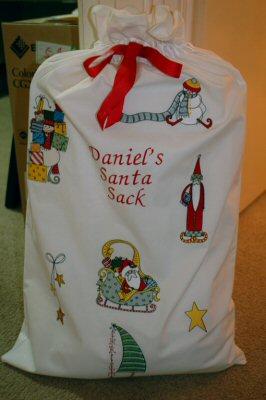 Pams Funky Christmas Santa Sack