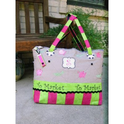Sallys Quirky Animals Market Tote