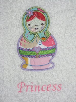 Candices Russian Dolls Bibs
