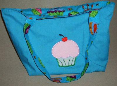 Fionas Cupcakes Applique Tote