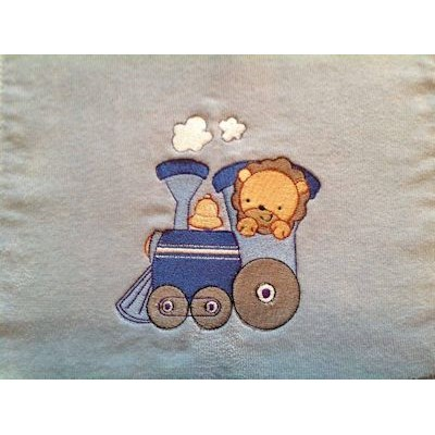 Donna Animal Train Blanket