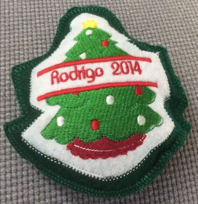 Cookie Split Christmas Ornament