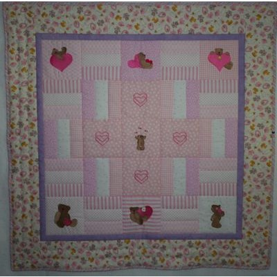 Diane To Bear With Love Quilt