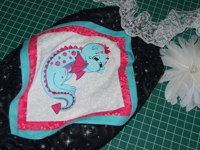 Lindy Lou Baby Dragons Romper Oct 16