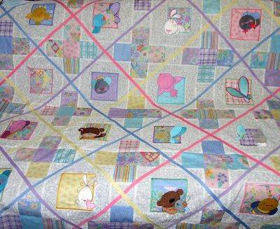 Lindy Lou Kidsworld B Happy Moments Quilt Oct 16