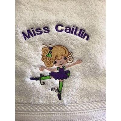 Lyn Ballet Cuties Towel Oct16